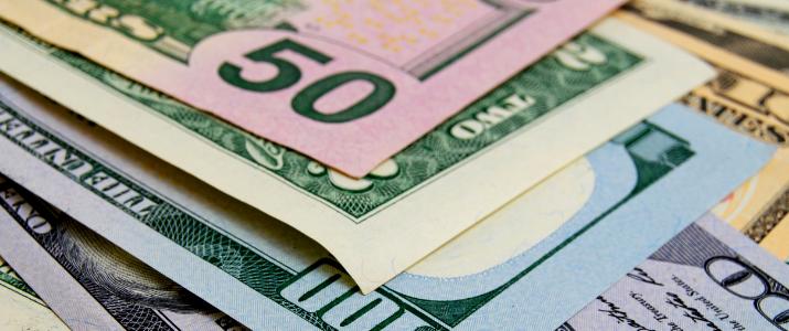 Banner Uang 50 Dolar