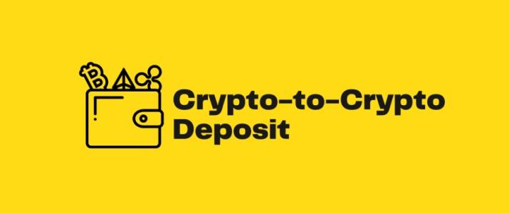 crypto to crypto deposit
